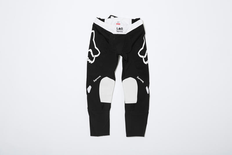 Supreme x Fox Racing Moto Pant Black Front