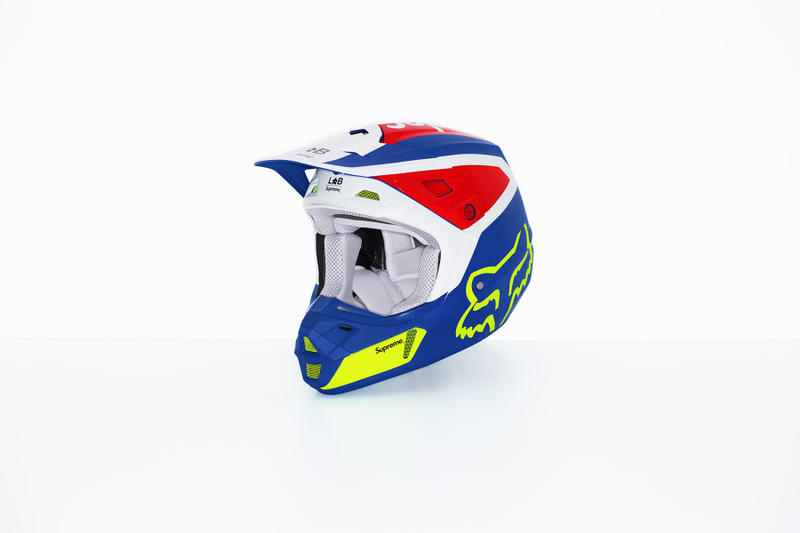 Supreme x Fox Racing V2 Helmet Blue