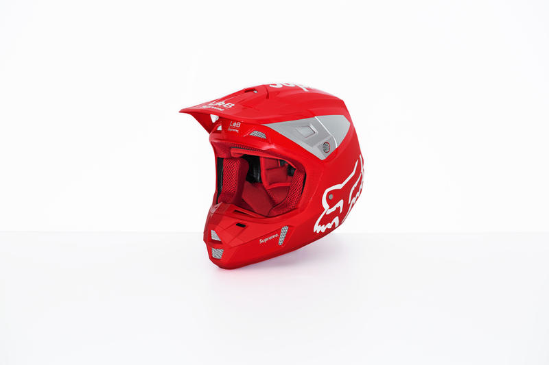 Supreme x Fox Racing V2 Helmet Red