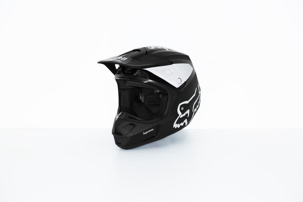 Supreme x Fox Racing V2 Helmet Black