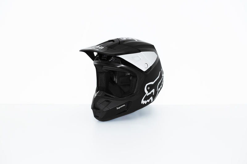 Supreme x Fox Racing V2 Helmet Black