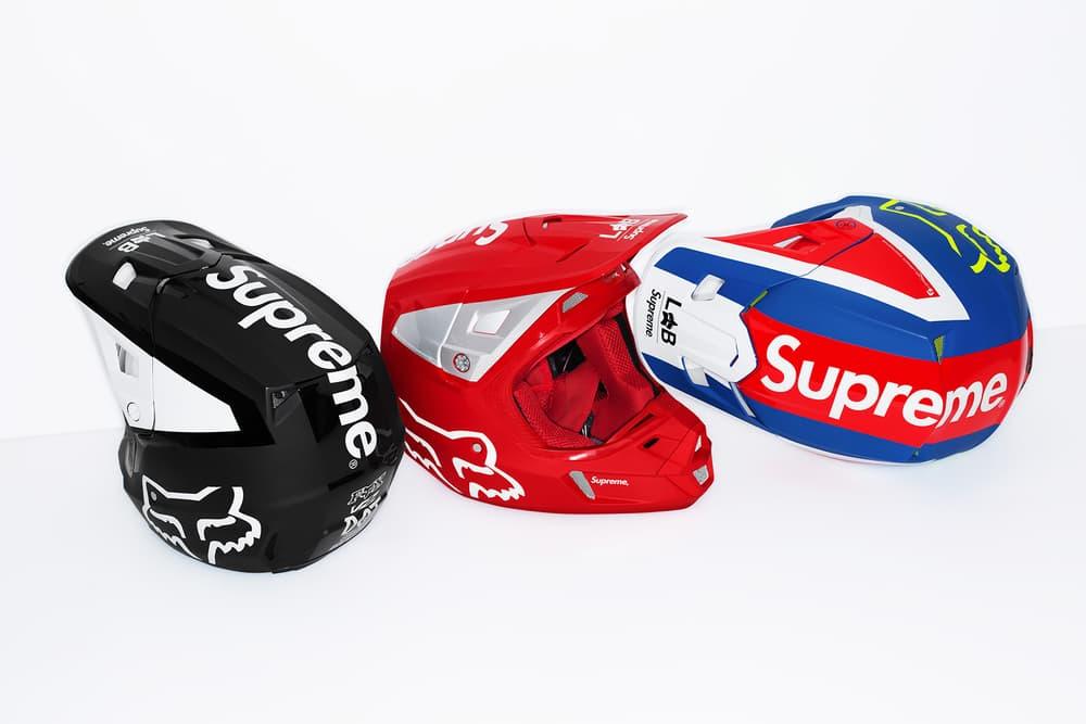 Supreme x Fox Racing V2 Helmet Group