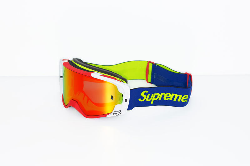 Supreme x Fox Racing Vue Goggles Blue