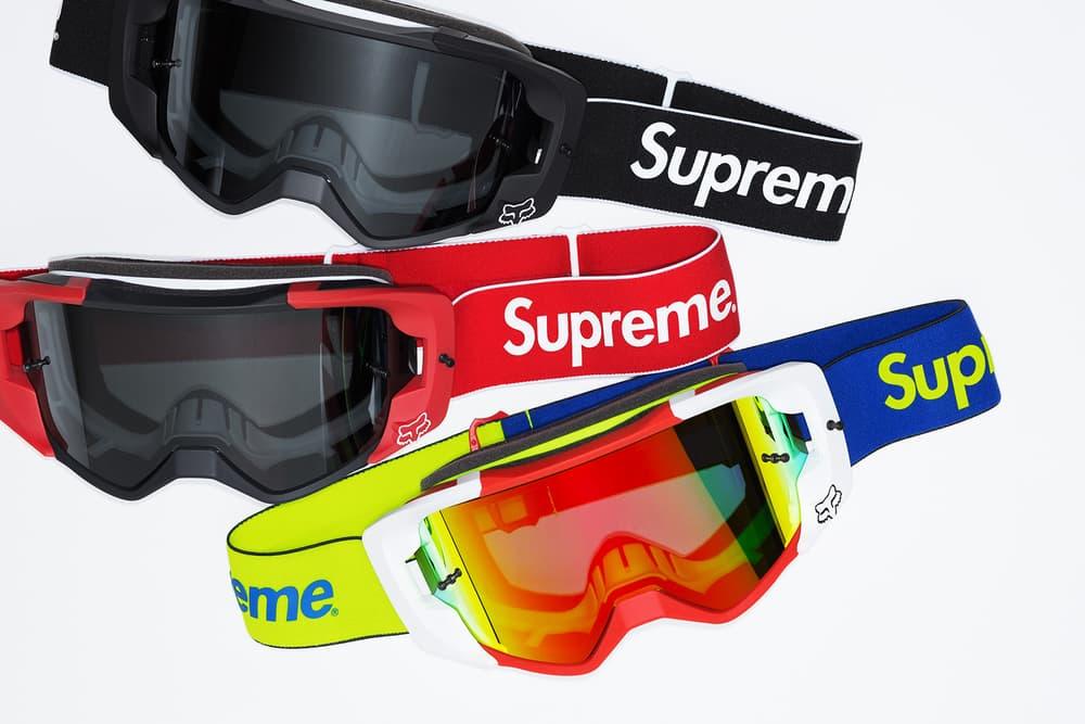 Supreme x Fox Racing Vue Goggles Group