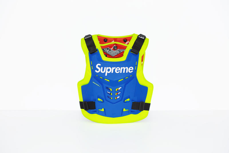 Supreme x Fox Racing Proframe Roost Deflector Vest Blue