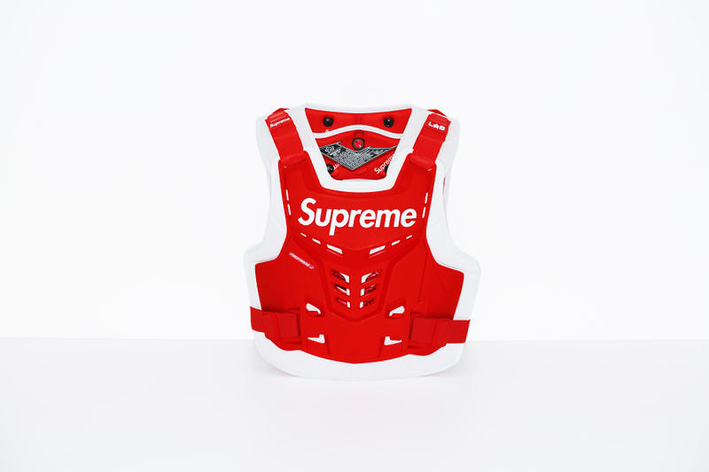 Supreme x Fox Racing Proframe Roost Deflector Vest Red
