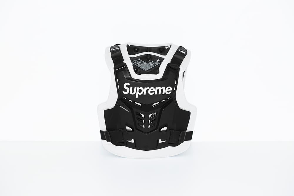Supreme x Fox Racing Proframe Roost Deflector Vest Black