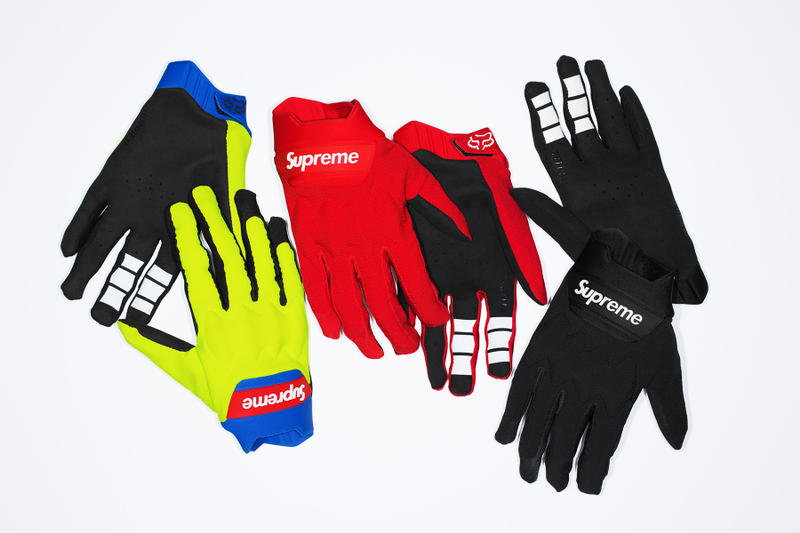 Supreme x Fox Racing Bomber LT Glove Group