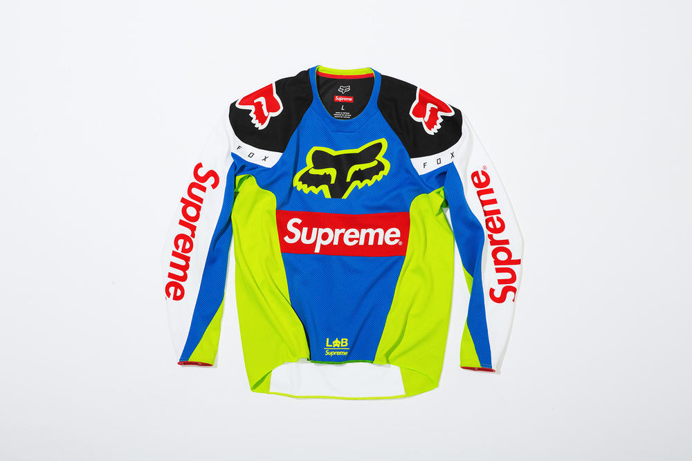 Supreme x Fox Racing Moto Jersey Top Front