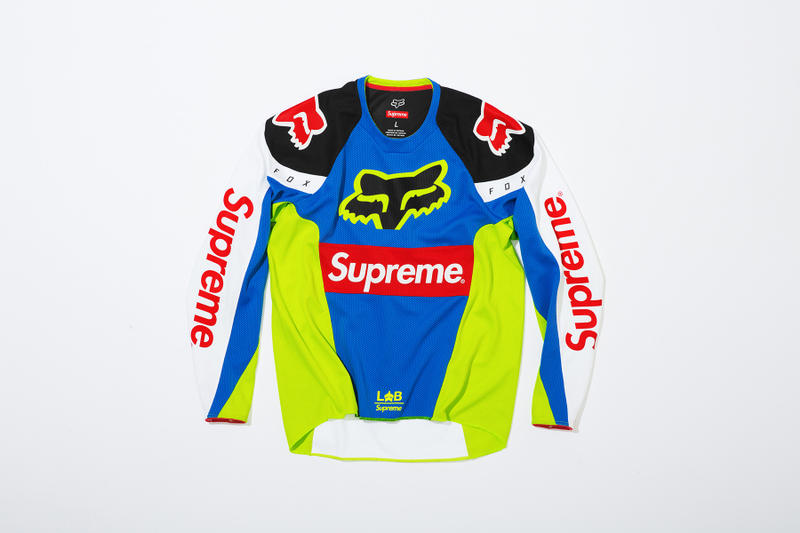 Supreme x Fox Racing Moto Jersey Top Front