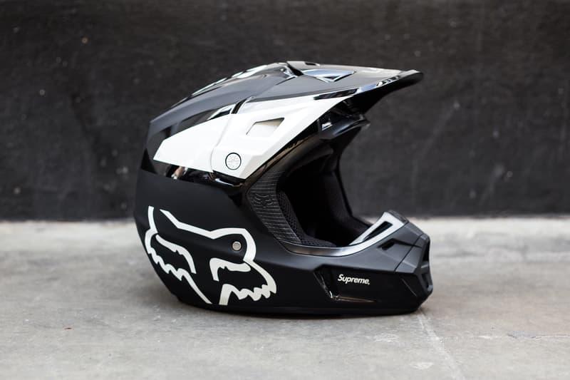 Supreme Fox Racing Closer Look Spring/Summer 2018 SS18 Streetsnaps Motorcycle Helmet Goggles Bike Handles Motocross Outfit