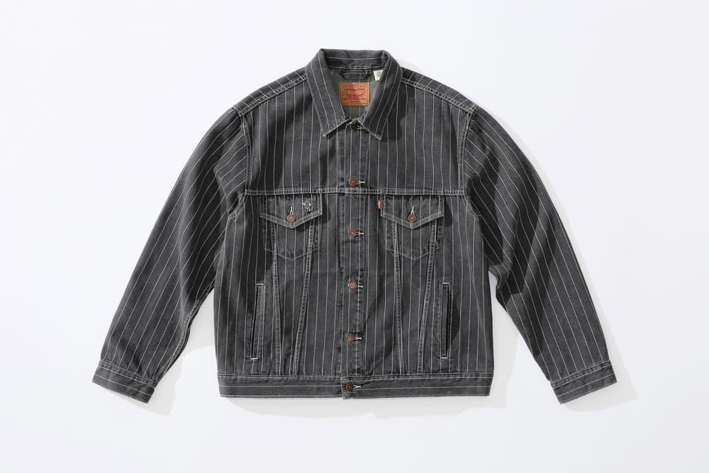 Supreme x Levi's Trucker Jacket black