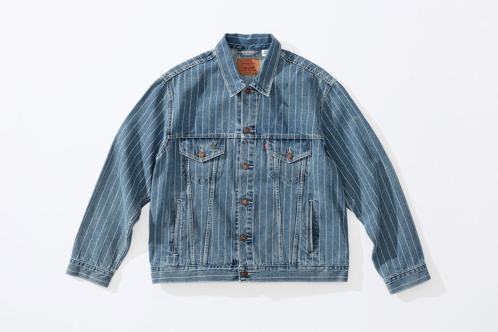 Supreme x Levi's Trucker Jacket blue