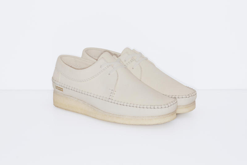 Supreme x Clarks Originals Weaver Collection Footwear Shoes Classic Made in UK Leather New York Supreme Crepe Suede