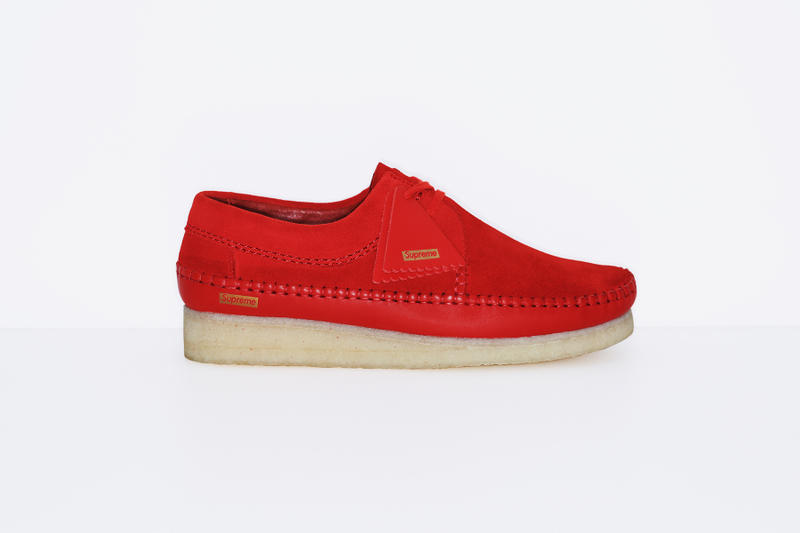 a83f01964feaa Supreme x Clarks Originals Weaver Collection Footwear Shoes Classic Made in UK  Leather New York Supreme
