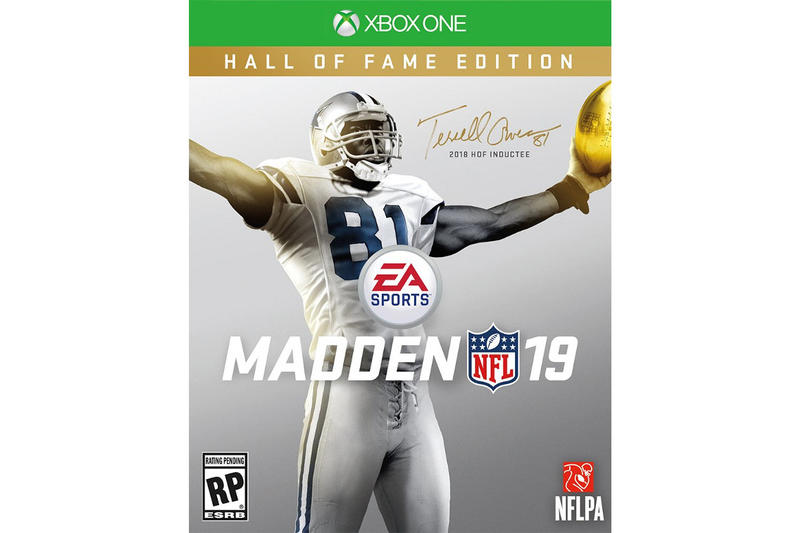 8ac20e50e Terrell Owens Madden NFL 19 Hall of Fame Edition