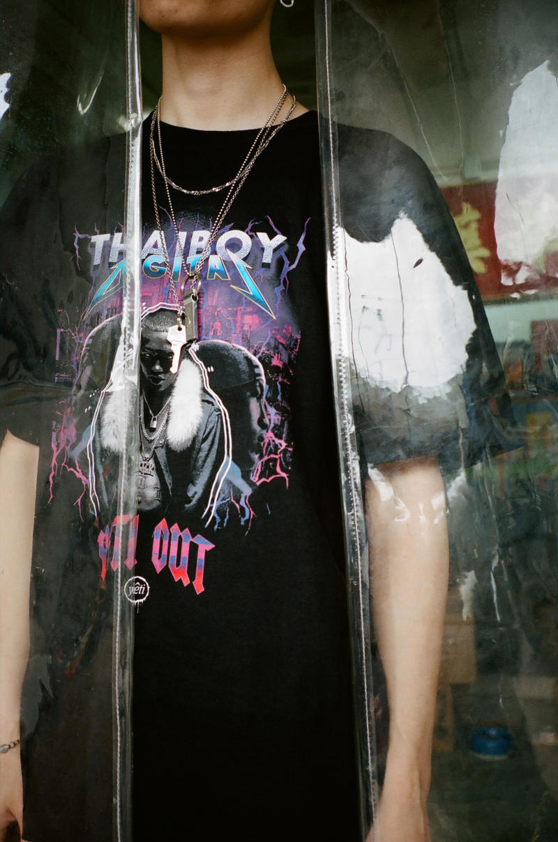 Thaiboy Digital Yeti Out Homage T Shirt collaboration tee may 2018 release date info drop