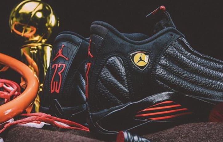 "The Air Jordan 14 ""Last Shot"" Michael Jordan Chicago Bulls"