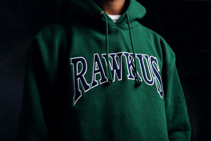 The Hundreds Rawkus Records Capsule Collection T-shirts coach jacket cap beanie hoodies