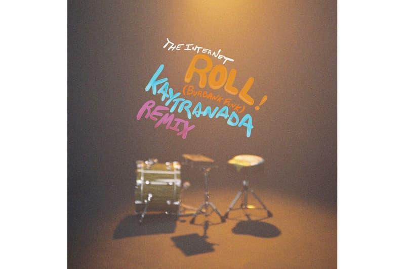KAYTRANADA Remix The Internet Roll Burbank Funk single stream may 10 2018 release date info drop debut premiere itunes apple music