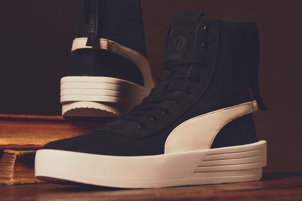 The Weeknd PUMA XO Parallel black white may 2018 release date info drop sneakers shoes footwear