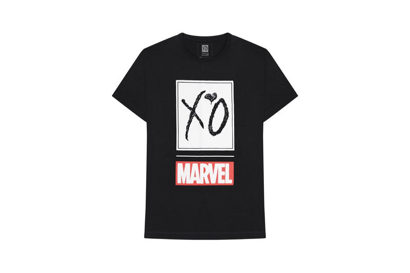 The Weeknd Marvel Comic Collection Collab T-Shirts Hoodies Jackets Caps Marvel XO Release Date Availability Pricing May 18