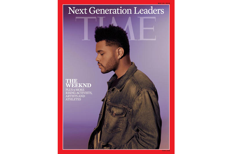 The Weeknd TIME Magazine Next Generation Leaders Issue