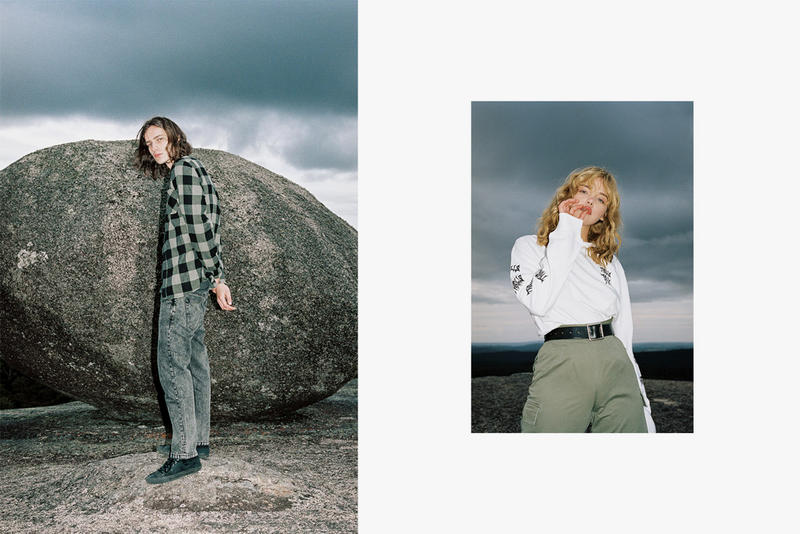 Thrills fall winter 2018 badlands lookbook denim military surplus