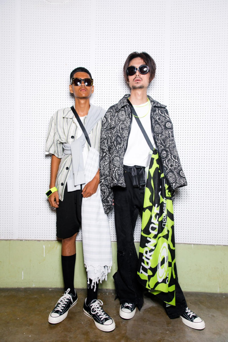 Tourne De Transmission Spring/Summer 2019 Backstage Kuala Lumpur Fashion Week Mercedes Benz Malaysia Imagery First Look Exclusive
