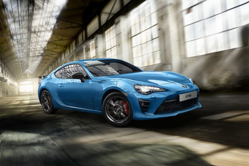 Toyota New GT86 Club Series Blue Edition