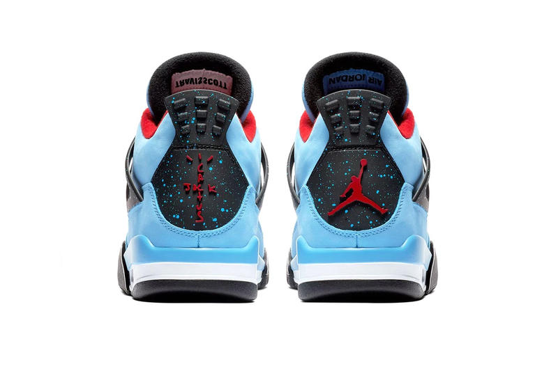 Travis Scott Air Jordan 4 Cactus Jack Official Look Brand Astroworld