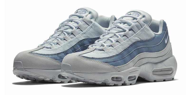 292cc402b23f Nike Air Max 95 Pale Blue Colorway release date light blue sneakers
