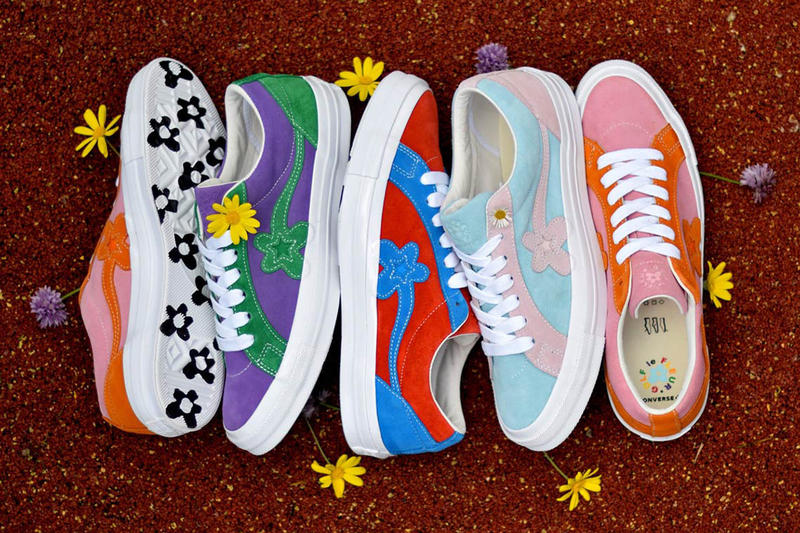 Tyler The Creator Converse One Star Golf Le Fleur May 31 2018 drop release date info sneakers shoes footwear
