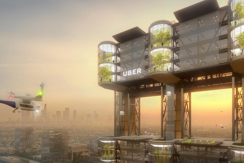uber uberair skyport flying cars technology car services