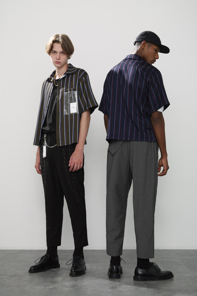 Unawares Spring Summer 2018 Collection Lookbook Denim Jacket Shirt T Trousers Pants Label