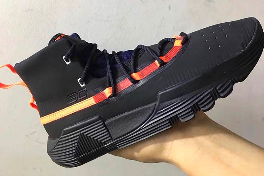Under Armour Curry Sneaker Sample Leaks