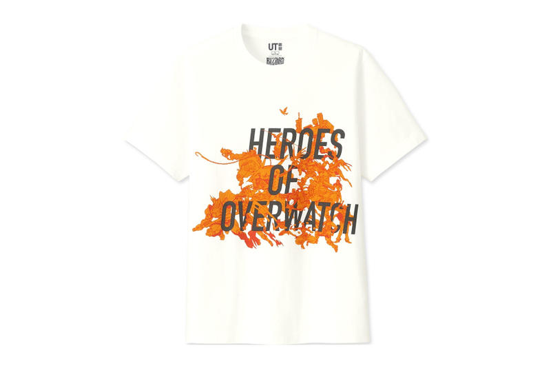 Uniqlo x Blizzard Entertainment UT Capsule Heroes of the Storm Overwatch Diablo III Starcraft Hearthstone blizzard gaming PC games e-sports