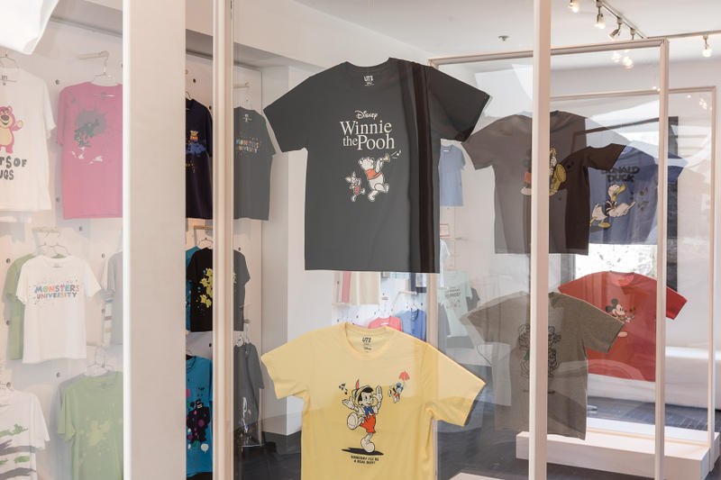 UNIQLO WEAR YOUR WORLD UT EVENT Tee Canada Discovery Channel  DISNEY FANTASIA LEGO LADURÉE MY LITTLE PONY Peanuts Kaws  SPRZ NY EAMES The Brands Masterpiece Roland Chupa Chups Volkswagen  Rubek's Rei Matsunuma,
