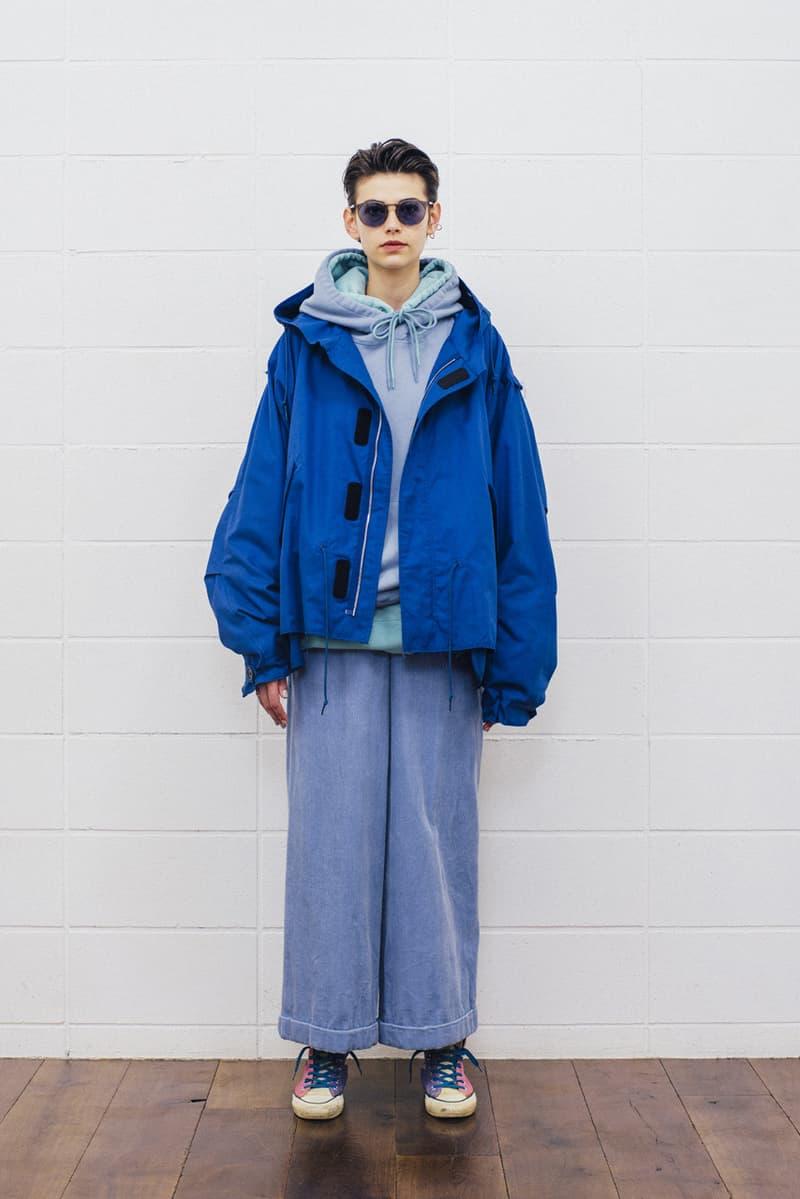 UNUSED fall winter 2018 collection lookbook japan drop release