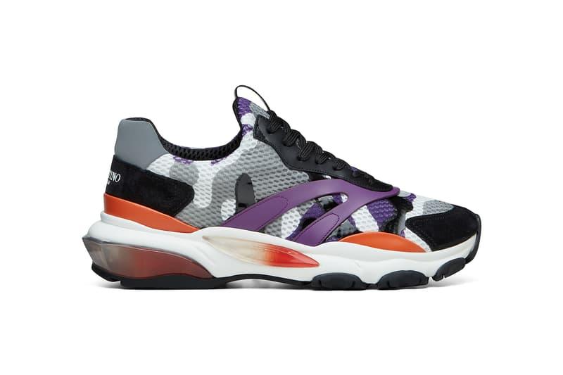 d6241d558aa6 Valentino Spring Summer 2018 Bounce Sneakers orange purple release date  info drop shoes footwear runner chunky