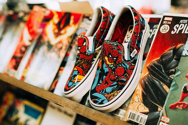 Vans Marvel Avengers Infinity War Collection sk8 hi slip on old skool release date june 1 where to buy price thor captain america spider man hulk black panther