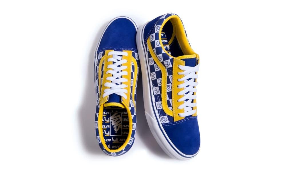Vans Michelin Sk8-Hi Old Skool collaboration contest raffle giveaway sneakers