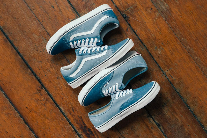 Vans Old Skool Authentic Denim Release Two Tone