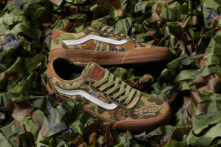 3ae3774499 Vans   Supply Collaborate on Camo Chima Pro 2 Colorway