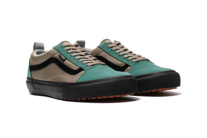 Vans Vault Sk8-Hi Old Skool Gore Tex Nubuck Canvas Ultracush Rugged Hardwearing Trail Runner Haven Intelligence Release Information Details