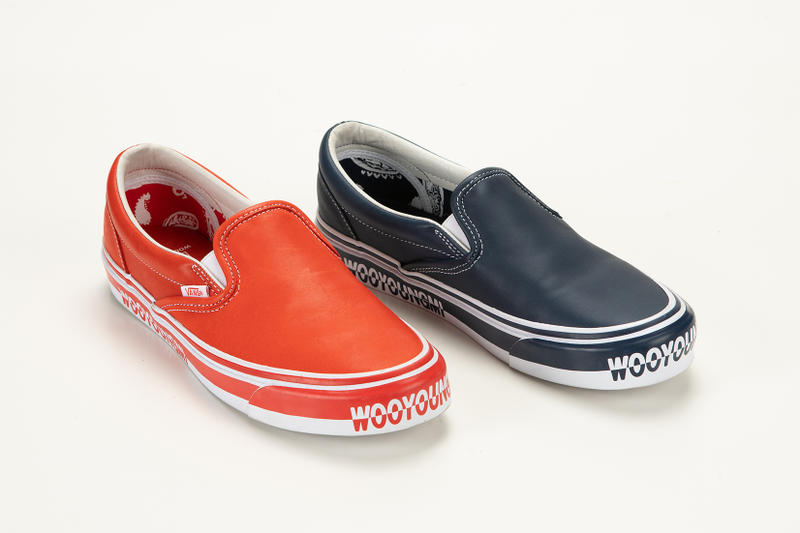 Wooyoungmi Vault Vans Collaboration Slip On Silhouette Releasing Available Purchase Cop June 2 Shoes Sneakers Kicks Trainers