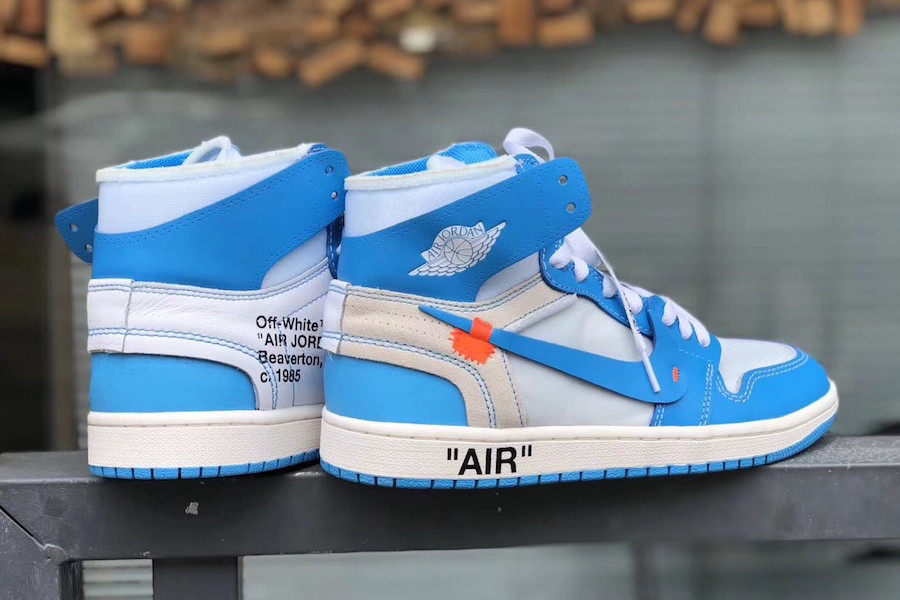 "0efb8f4d25e63f Take a Detailed look at the Virgil Abloh x Air Jordan 1 ""UNC"""