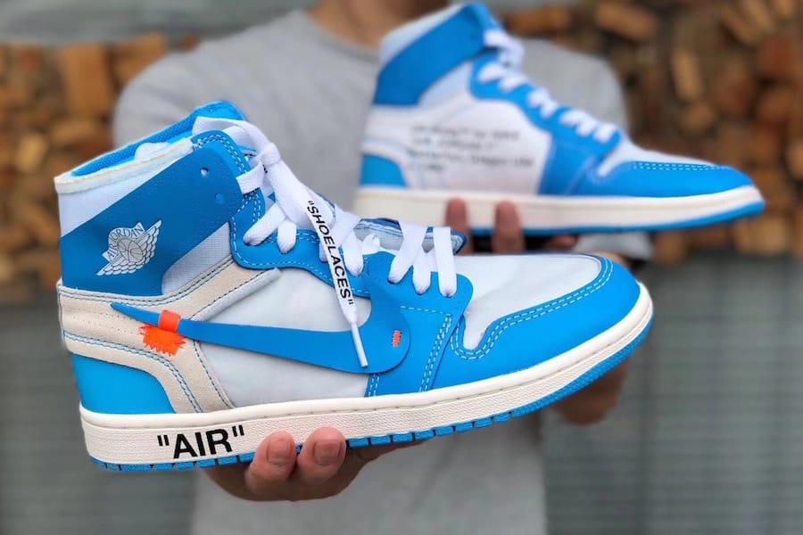 "Virgil Abloh x Air Jordan 1 ""UNC"