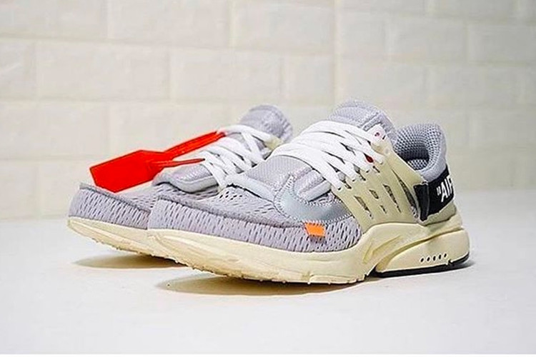 the latest e1ee8 6efea UPDATE  These Grey Virgil Abloh x Nike Air Prestos Are Fake