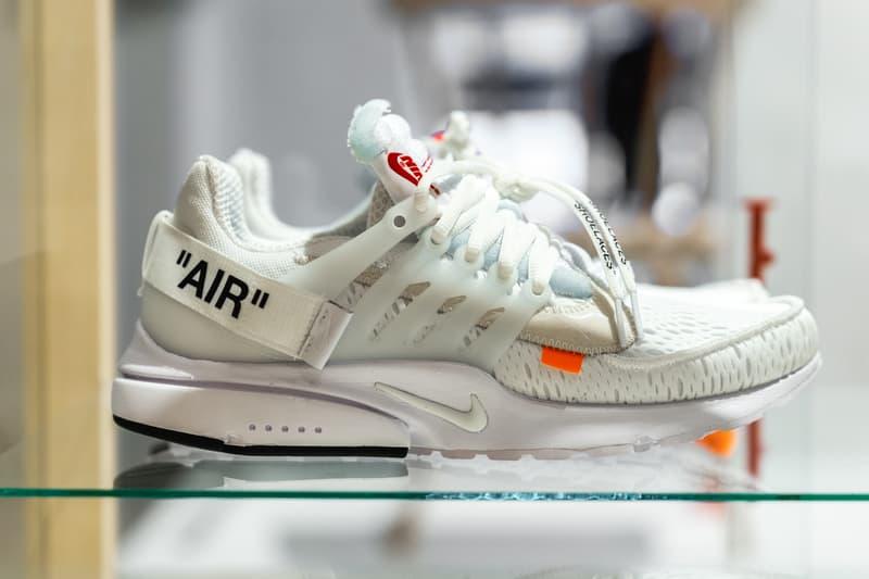Virgil Abloh Nike Air Presto White Black june 21 2018 release date info drop sneakers shoes footwear off white